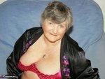 Grandma Libby. Black Satin Free Pic 2