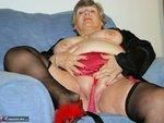 Grandma Libby. Black Satin Free Pic 7