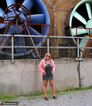 NudeChrissy. The Industrial Museum Free Pic