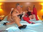 Grandma Libby. Lesbo Fun With Auntie Trisha Free Pic 3