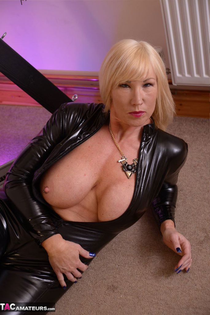 sexy grannies in pvc