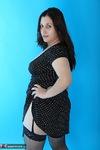 Kimberly Scott. Polka Dot Dress & Stockings Free Pic 17