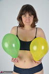 HotMilf. Playing With Balloons Free Pic