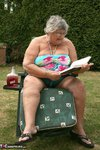 Grandma Libby. Relaxing In The Sun Free Pic 1