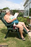 Grandma Libby. Relaxing In The Sun Free Pic 2