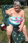 Grandma Libby. Relaxing In The Sun Free Pic 3