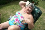 Grandma Libby. Relaxing In The Sun Free Pic 5
