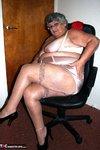 Grandma Libby. Bright Red Dress Free Pic 10