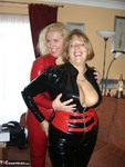 Barby. Lesbos In PVC Free Pic 2