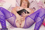 SpeedyBee. Purple Bodystocking Free Pic 2