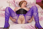 SpeedyBee. Purple Bodystocking Free Pic 15