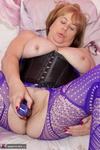 SpeedyBee. Purple Bodystocking Free Pic 17