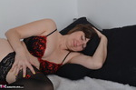 HotMilf. Nylons On The Bed Free Pic 2