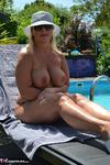 NudeChrissy. My Nude Pool Free Pic