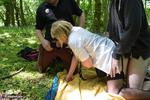 BarbySlut. Barby Schoolgirl In The Woods Free Pic 13