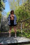 NudeChrissy. On The Stairs To Heaven Free Pic 5
