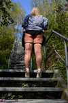 NudeChrissy. On The Stairs To Heaven Free Pic 7