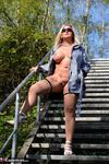 NudeChrissy. On The Stairs To Heaven Free Pic 19
