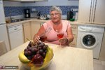 Grandma Libby. Relaxing In The Kitchen Free Pic 2