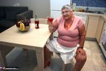 Grandma Libby. Relaxing In The Kitchen Free Pic 3
