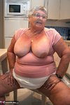 Grandma Libby. Relaxing In The Kitchen Free Pic 6