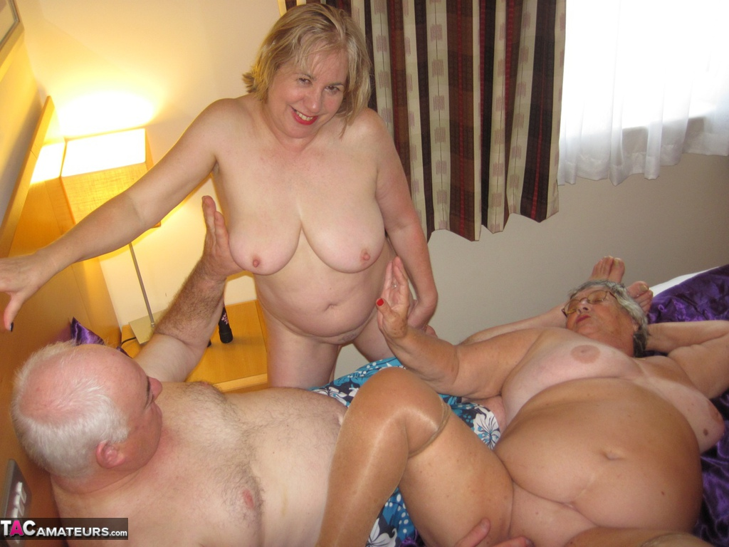 image Old couple young swingers dirty introducing