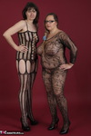 HotMilf. At the posing with my girlfriend MaraLove. We both in Catsui Free Pic 1