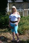 Melody. Blue Capri Pants Pt1 Free Pic 1