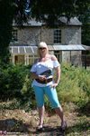 Melody. Blue Capri Pants Pt1 Free Pic 2
