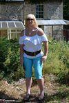 Melody. Blue Capri Pants Pt1 Free Pic 3