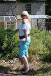 Melody. Blue Capri Pants Pt1 Free Pic 4