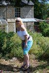 Melody. Blue Capri Pants Pt1 Free Pic 5