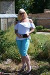 Melody. Blue Capri Pants Pt1 Free Pic 7
