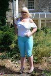Melody. Blue Capri Pants Pt1 Free Pic 13