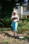 Melody. Blue Capri Pants Pt1 Free Pic 17