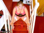 CurvyClaire. On The Stairs Pt1 Free Pic 13