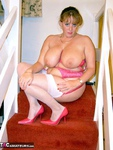 CurvyClaire. On The Stairs Pt2 Free Pic