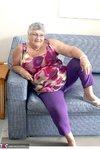 Grandma Libby. New Purple Outfir Free Pic 1