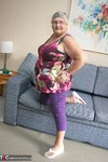 Grandma Libby. New Purple Outfir Free Pic 2