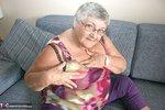 Grandma Libby. New Purple Outfir Free Pic 3