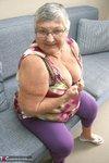 Grandma Libby. New Purple Outfir Free Pic 4