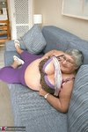 Grandma Libby. New Purple Outfir Free Pic 6