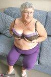 Grandma Libby. New Purple Outfir Free Pic 7