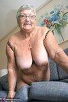 Grandma Libby. New Purple Outfir Free Pic 13