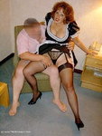 CurvyClaire. French Maid Pt1 Free Pic 6