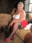 Grandma Libby. Frolicking In The Hay Free Pic 5