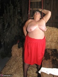 Grandma Libby. Frolicking In The Hay Free Pic 8
