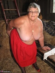 Grandma Libby. Frolicking In The Hay Free Pic 9