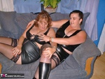 CurvyClaire. Leather Lesbos Pt1 Free Pic 4