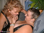 Curvy Claire. Leather Lesbos Pt1 Free Pic 10